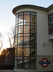 east finchley tube station, london