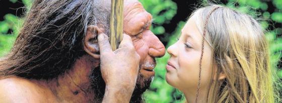 Neandertalviro kaj filino