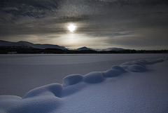 Marshmallow Snow, Loch Morlich, Glenmore, Cairngorm National Park, Scottish Highlands