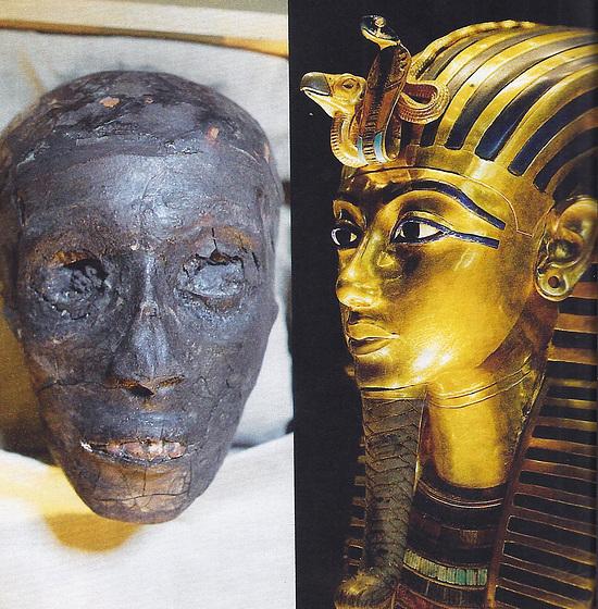 Bruligita faraono Tuanĥamono