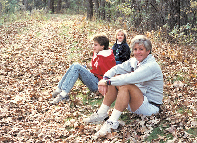 Todd, Emily and Tom, 1989
