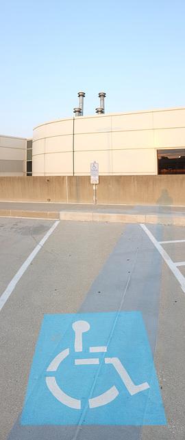 Parking lot art