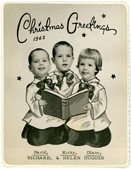 A Chorus of Christmas Greetings for 1962