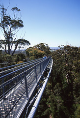 Aerial walkway