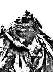 Auguste Rodin: Balzac (1897), detail