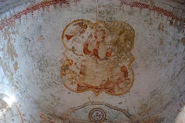Christ en majesté - Eglise de St-Jean d'Abbetot