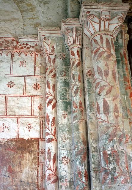 Peintures murales de l'église de St-Jean d'Abbetot