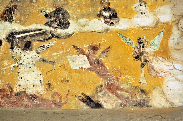 Peintures murales du Choeur de l'église de St-Jean d'Abbetot