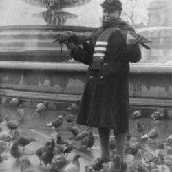 37 Tony At Trafalgar Square