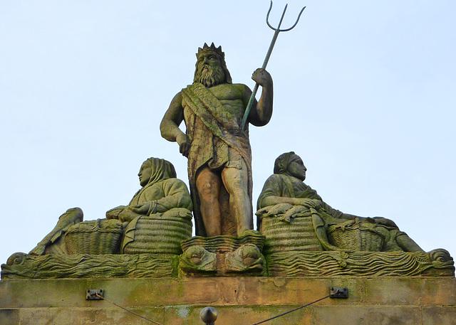 Poseidon/Neptune and his fisherwomen