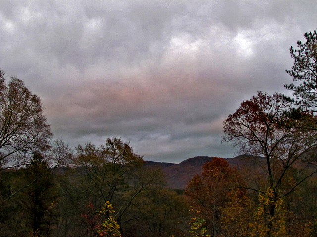 Afternoon Clouds over Big Ridge