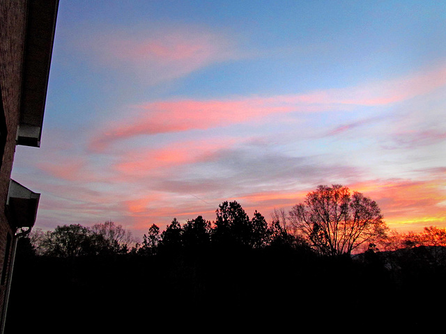 Sunrise from my Deck