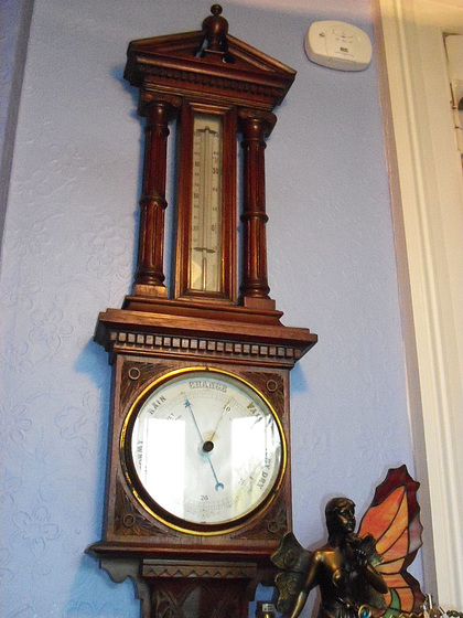 The old barometer in my lounge