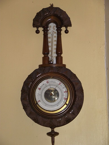 Another little barometer in my hall