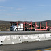 selland auto transport frtlnr columbia car carrier i15 apple valley ca 07'14