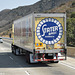 stater bros mack pinnacle reefer van i15 corona ca 07'14