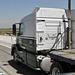 triple e trucking volvo vnl670 ex od dbl hay wagons ca sr99 tulare ca 07'14