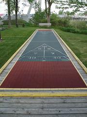 Banc de jeu / Game bench.