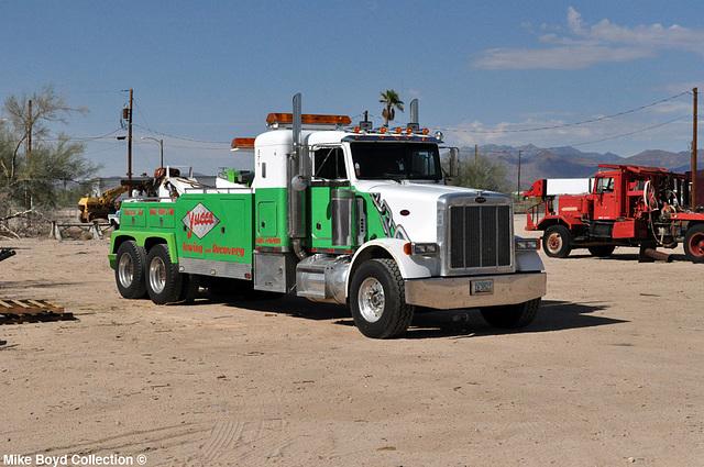 yucca towing pb 378 wrecker yucca az 07'14