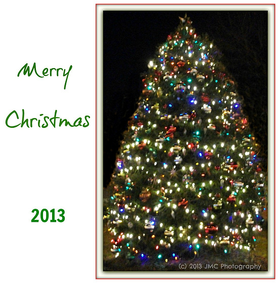 **** O Christmas Tree **   ----                                          From us -
