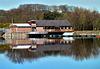 Reflections on Lake Burwain.