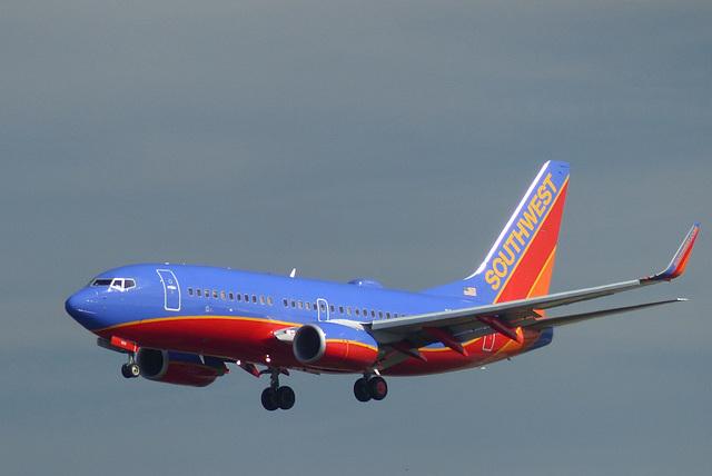 Southwest B737 at FLL - 26 January 2014