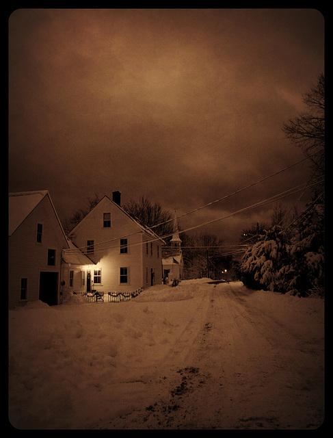 winter comes knock, knock, knocking