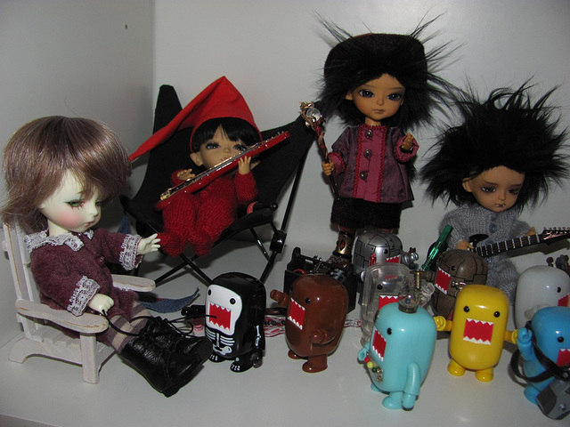 What do your dolls do when you are not watching?