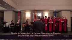 """Makedona kanto """"Eleno, filino, Eleno"""" ( Koruso Ezerki  kaj Orkestro 7/ 8)"""