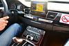 Oman 2013 – Audi A8 dashboard
