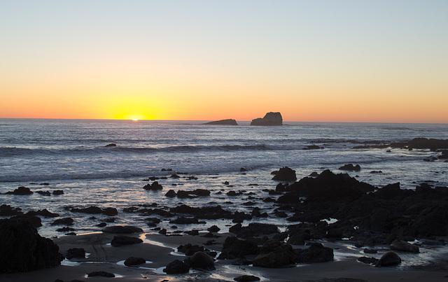 CA-1 Piedras Blancas sunset (1180)
