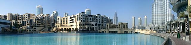 Wohnen im Burj Khalifa Lake. ©UdoSm