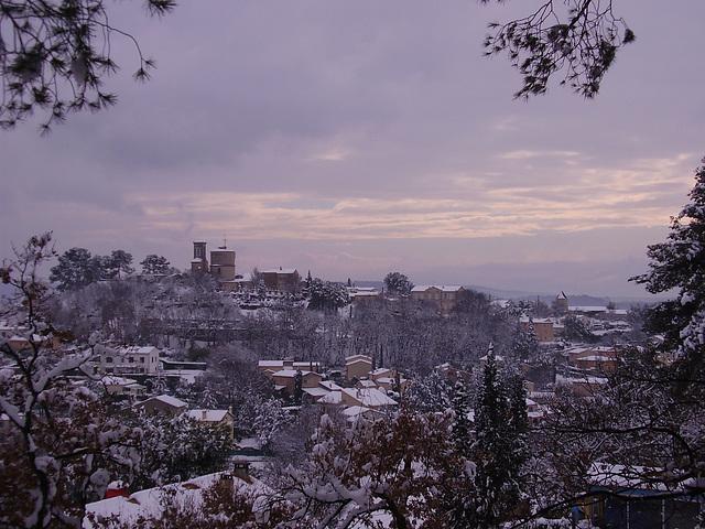Venelles sous la neige 8-1-2011 (9)