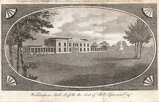 Worlingham Hall, Suffolk