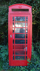 Wrentham. London Road. Telephone Box