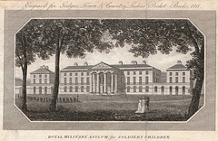 Former Royal Military Asylum, Kings Road, Chelsea, London (Now Duke of York's TA Building)