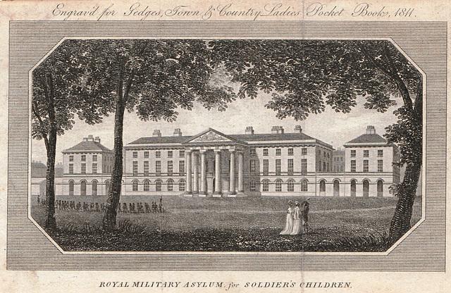 Former Royal Military Asylum, Kings Road, Chelsea, London (Now Duke of York's TA Building)