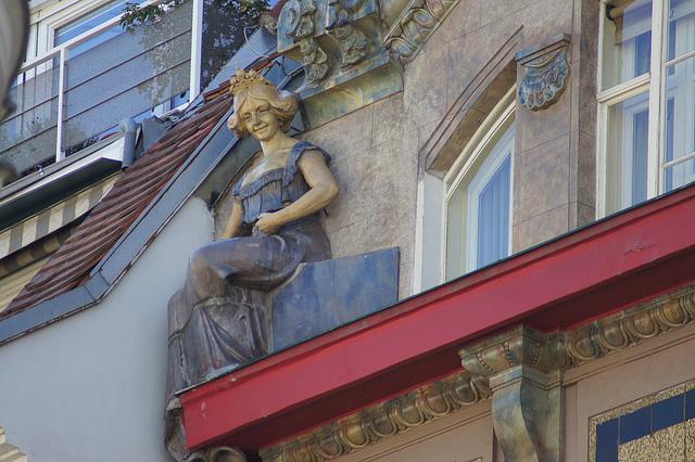 zoom sur les toits et les façades Vienne
