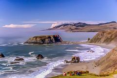 Goat Rock Beach near Jenner, CA, 1985 (330°)