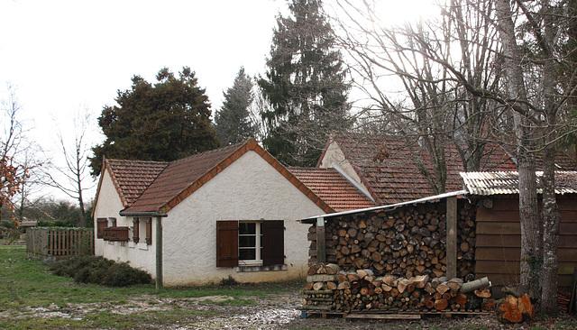 belle réserve de bois !!!!