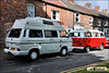 1989 VW Transporter Type 2 (T3) & 1979 VW Campervan Type 2 (T2) - G900 SPP & EKN 453T