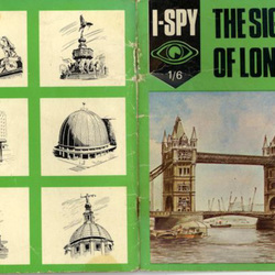 I-Spy the Sights of (1960s) London cover