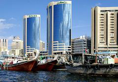 Alt und Neu in Dubai.   ©UdoSm