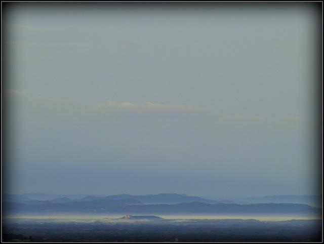 bleue... la terre de Provence !