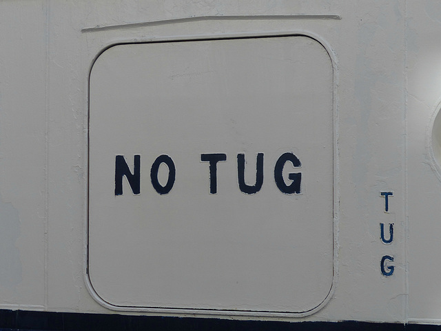 Tug, No Tug - 30 January 2014