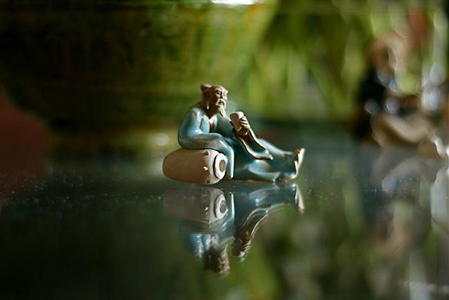 Le Lac Céleste: Méditation verte