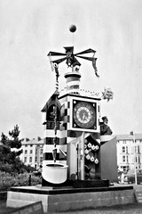 Guiness Clock opened- Southsea Rock gardens 1954