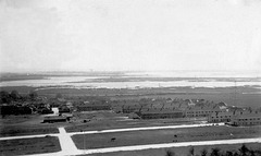 Portsmouth from Portsdown Hill 25 April 1937