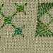 ##108 and 109 - Rice Stitch, varieties and Square Boss Stitch