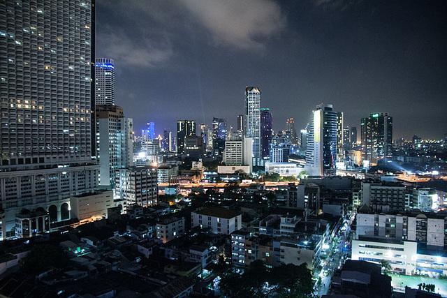 Blade runner? Bangkok by night